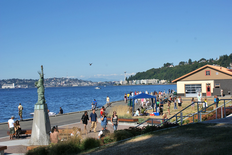 Alki Beach Park Seattle Wa