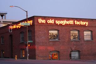 Spaghetti factory in seattle